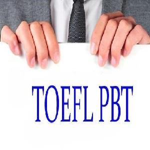آزمون TOEFL PBT