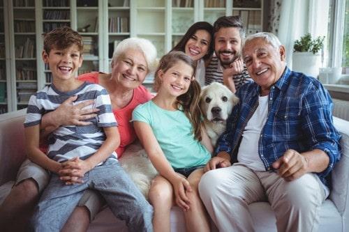 معرفی اعضای خانواده به انگلیسی