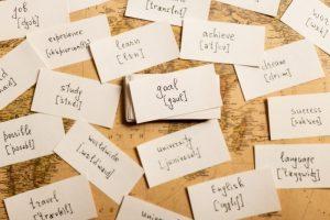 حفظ لغات با فلش کارت