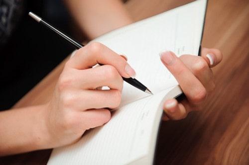قوانين نوشتن writing