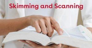 تکنیک اسکنینگ و اسکیمینگ چیست؟