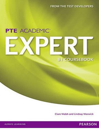 منابع آزمون pte کتابهای EXPERT PTE ACADEMIC COURSEBOOK B1 & B2