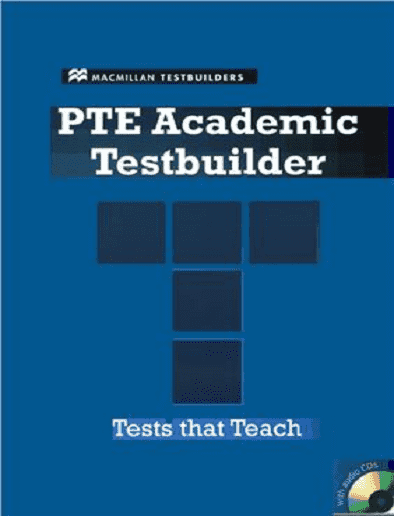 منابع آزمون pte کتاب PTE ACADEMIC TESTBUILDER