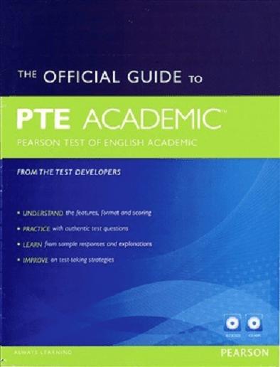 کتاب THE OFFICIAL GUIDE TO PTE ACADEMIC
