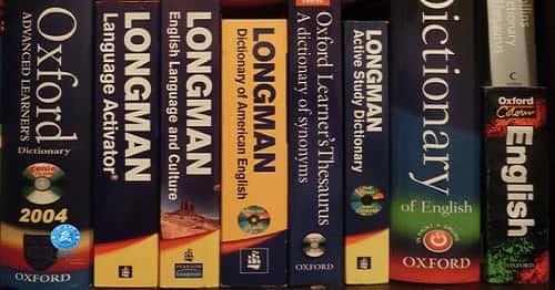 دیکشنری زبان انگلیسی
