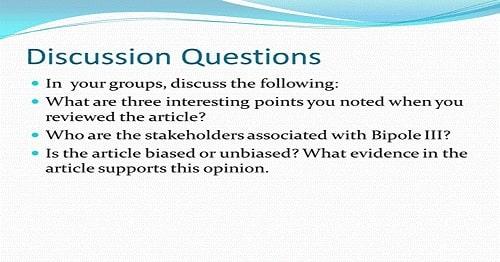 سوال Discussion