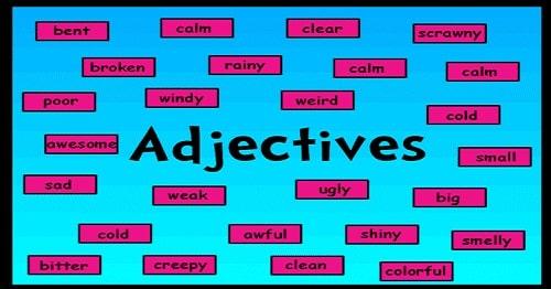 صفات adjectives در زبان انگلیسی