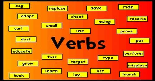 افعال (Verbs) در زبان انگلیسی