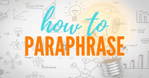 Paraphrase یا پارافریز چیست؟