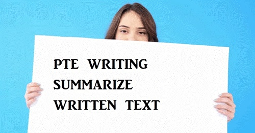 (Summarize Written Text (SWT