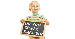 یادگیری زبان انگلیسی در کودکی