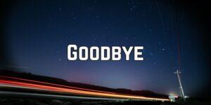 انواع خداحافظی در زبان انگلیسی