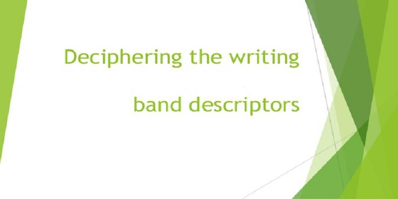 رایتیتنگ Band Descriptors